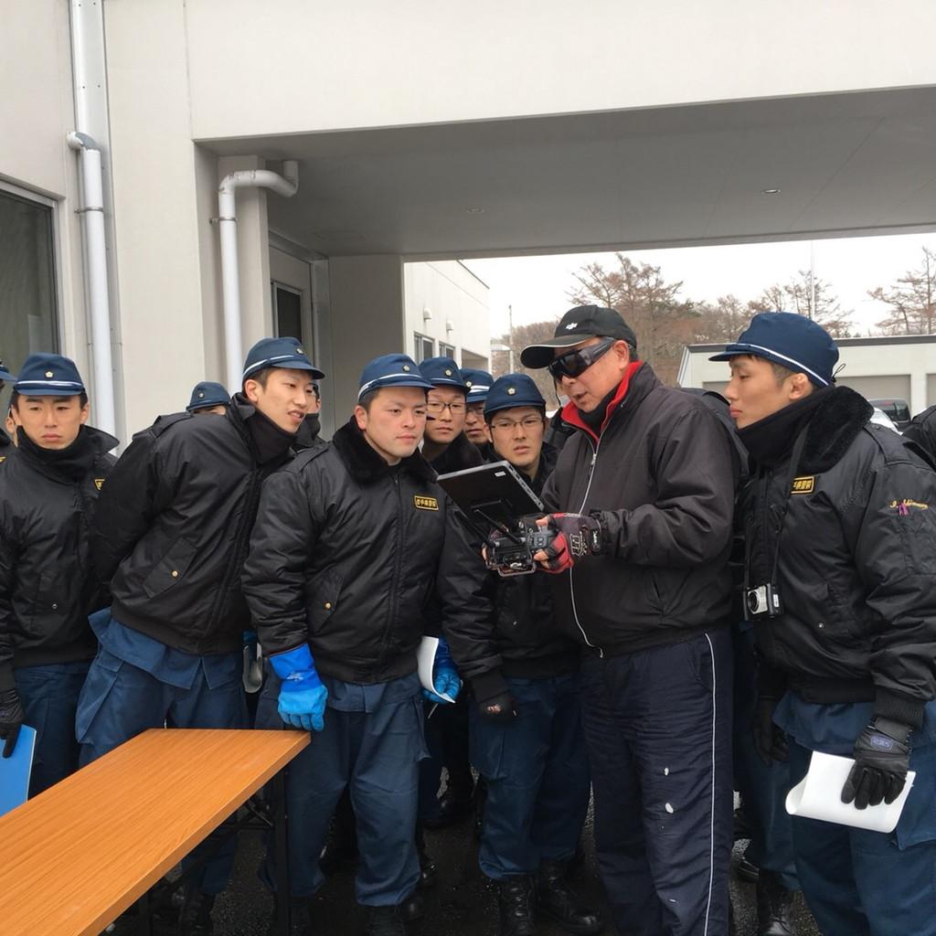 岩手県警察本部 警備部 機動隊にて講習会